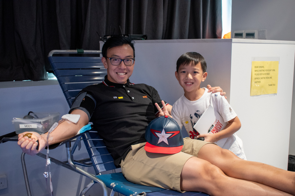 OrangeTee partners Red Cross Singapore in successful inaugural blood drive