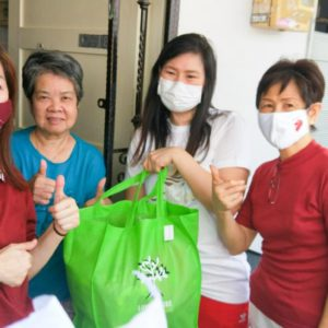 OrangeTee continues support for Singapore's seniors in Love For Senior Citizens Care Pack distribution